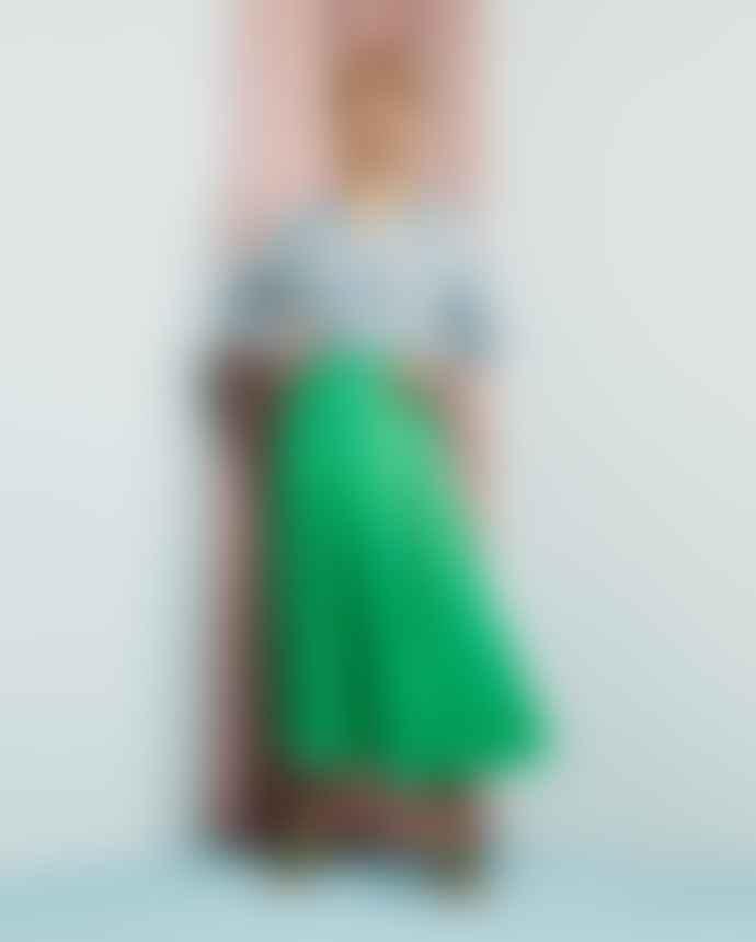 Fabienne Chapot Green Megan Skirt
