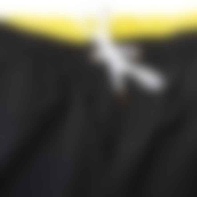 Champion Reverse Weave Classic Swim Short Black And Yellow