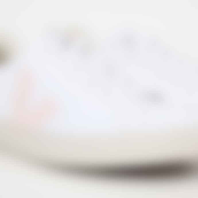 Veja Esplar Canvas White Petal Berry Trainers