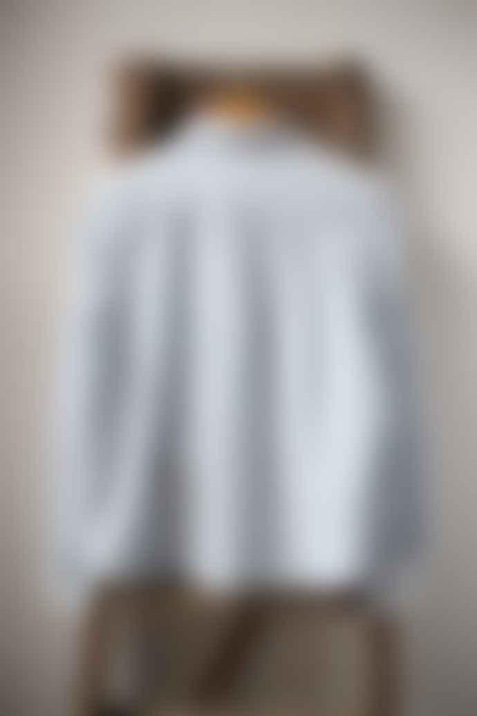 Leon & Harper Caillou Blue White Stripe Shirt