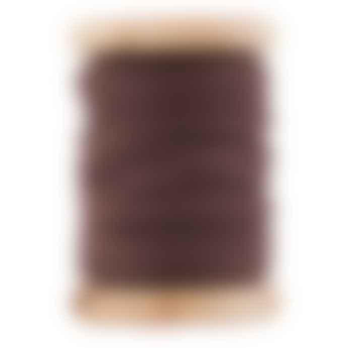 Monograph Brown Leather Ribbon