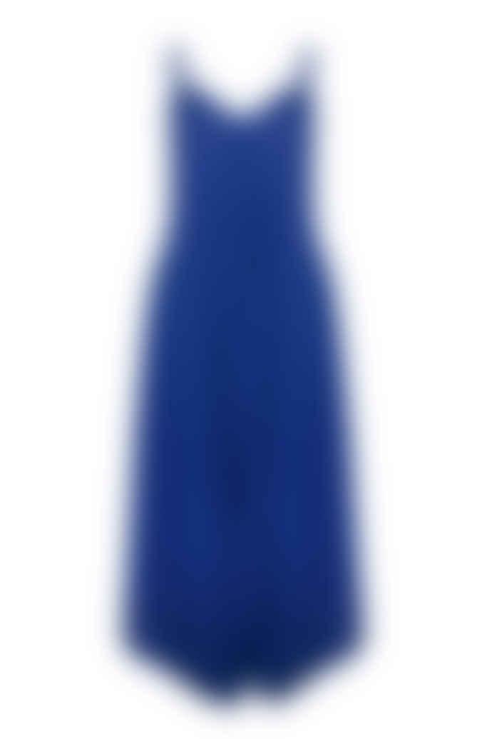 Jovonna London Blue Splisse Wide Leg Jumpsuit