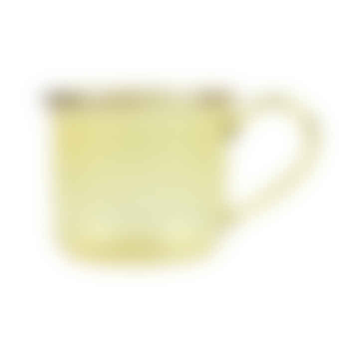 HAY Yellow Borosilicate Glass Cup