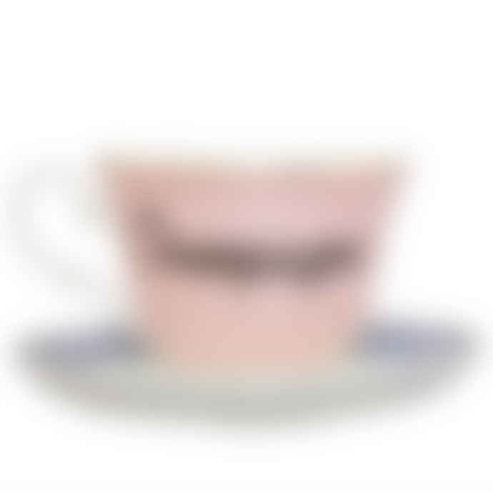 Yvonne Ellen Champagne Cup and Saucer