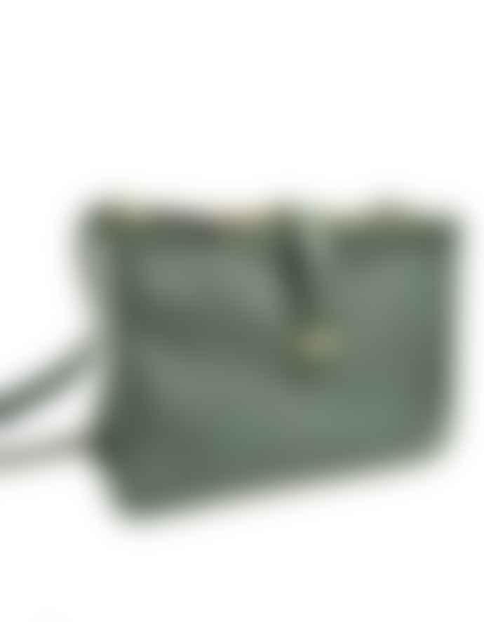7aa4ce86 LAMARI BERLIN Dark Green Small Lou Hand Bag