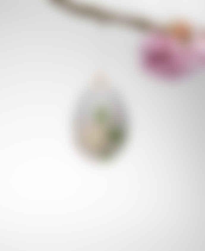 Gisela Graham Embroidered Felt Easter Eggs