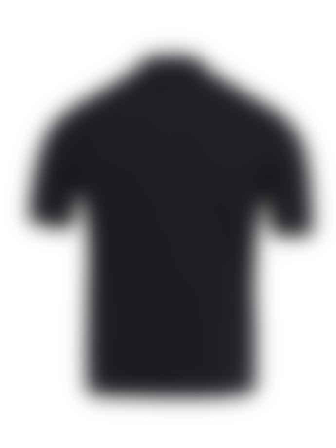 John Smedley Navy Popplewell Polo Shirt