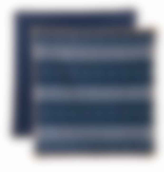 Return to Sender Blue Kiki Van Eijk Bindi Tea Towel Set