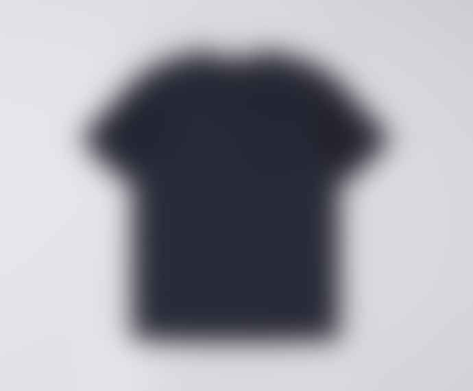 Edwin Blue Cotton Terry T Shirt