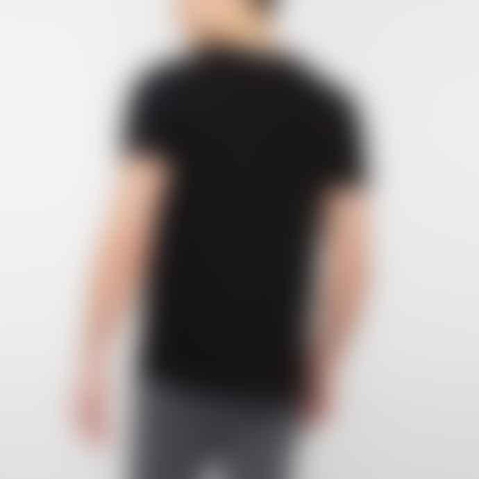 Edwin Black Double Pack Cotton Basic T Shirts