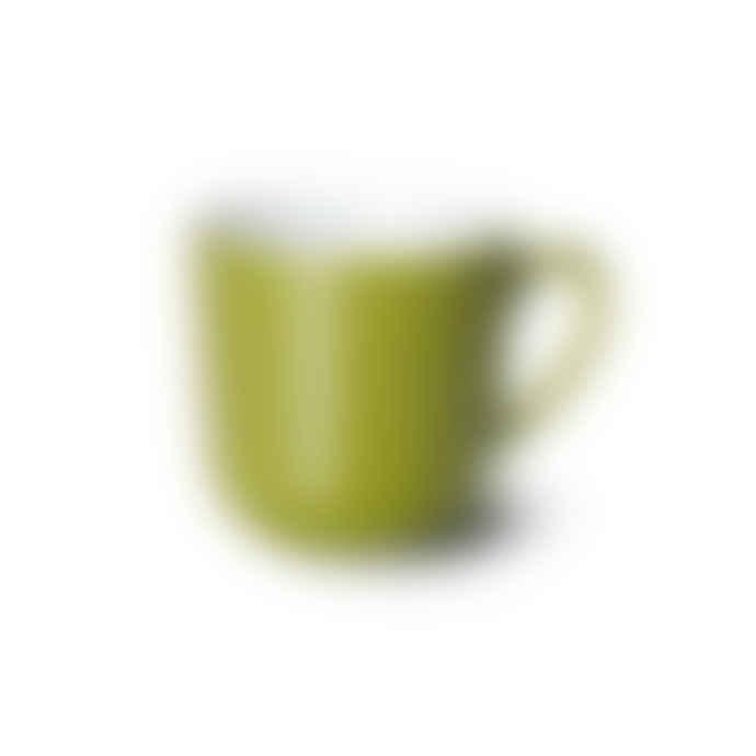 Dibbern Olive Green Solid Color Mug