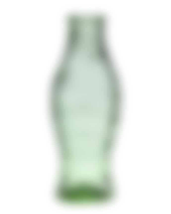 Serax Transparent Green 1L Large Glass Fish And Fish Bottle