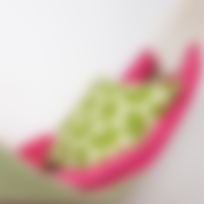 Afro Art Pink Green Canvas Hammock