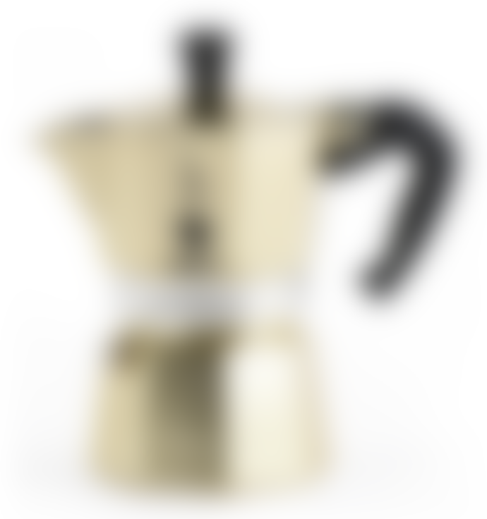 Bialetti Gold 6 Cup Moka Express Stovetop Espresso Maker