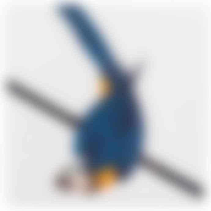 STORYTILES Blue Parrot Ceramic Tile