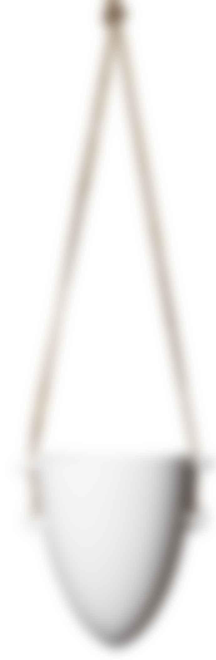 Wikholm Form White Ceramic Hanging Pot