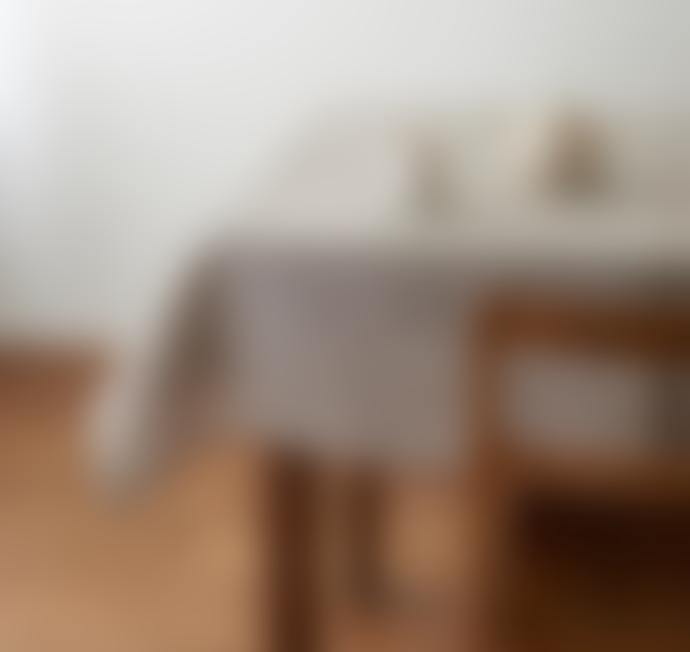 Linen Tablecloth Natural