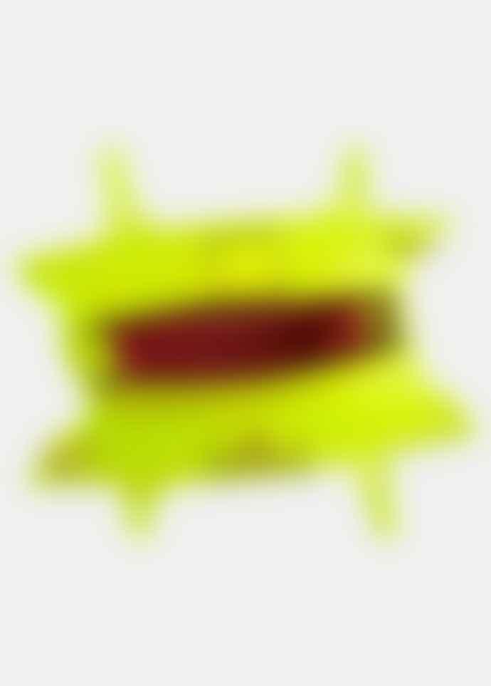 Essentiel Antwerp Smooch small transparent shopper yellow