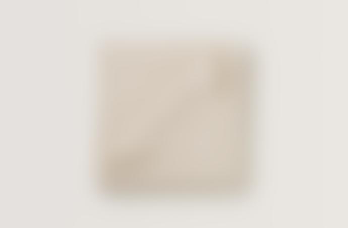 Garbo & Friends Ecru Waffle Cotton Blanket