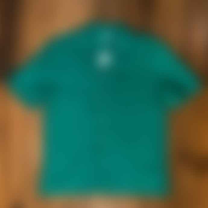 Fox Haus Gardenia Green Linen Shirt
