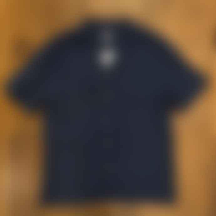 Fox Haus Gardenia Baja Blue Linen Shirt