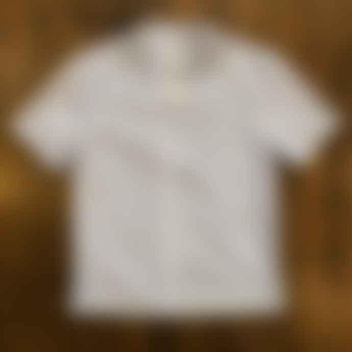 Fox Haus Ammonia Stripes Cotton Hawaiian Shirt