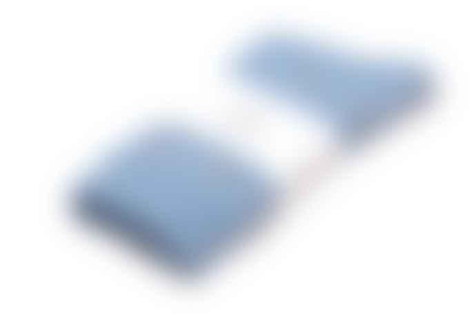 Royalties Paris 40-45 Size Blue Cotton Kelly Socks