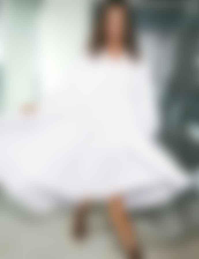mbyM  Oversized White Kizzy Dress