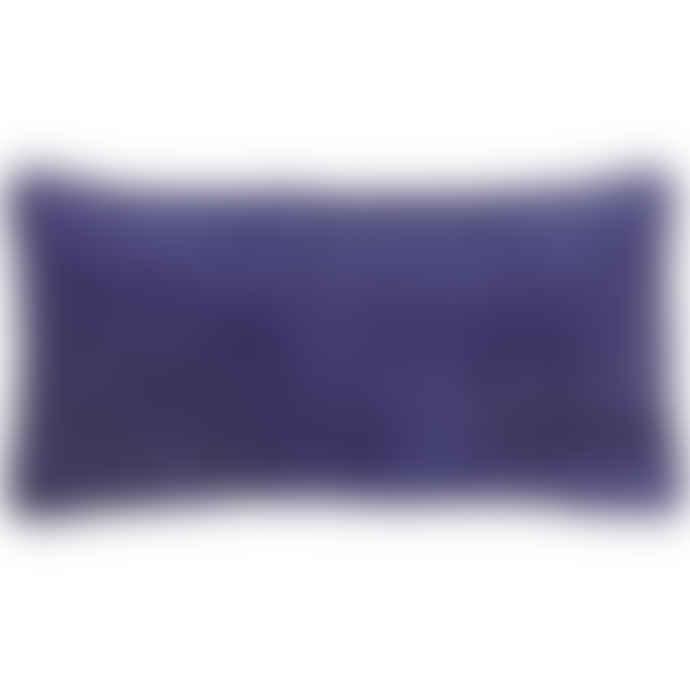Liv Interior Indigo Velvet Cushion Cover 30 x 60 cm