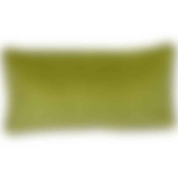 Liv Interior Moss Velvet Cushion Cover 30 x 60 cm