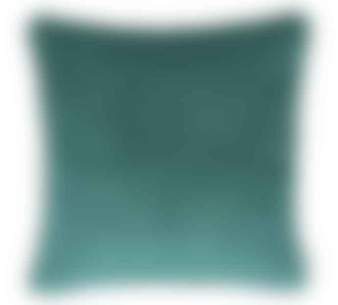 Liv Interior Emerald Square Velvet Cushion Cover 60 x 60 cm