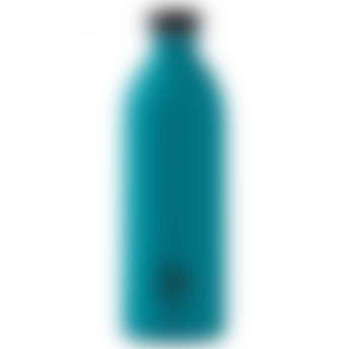 24Bottles Super Lightweight Urban Water Bottle 1 L Atlantic Bay Stone
