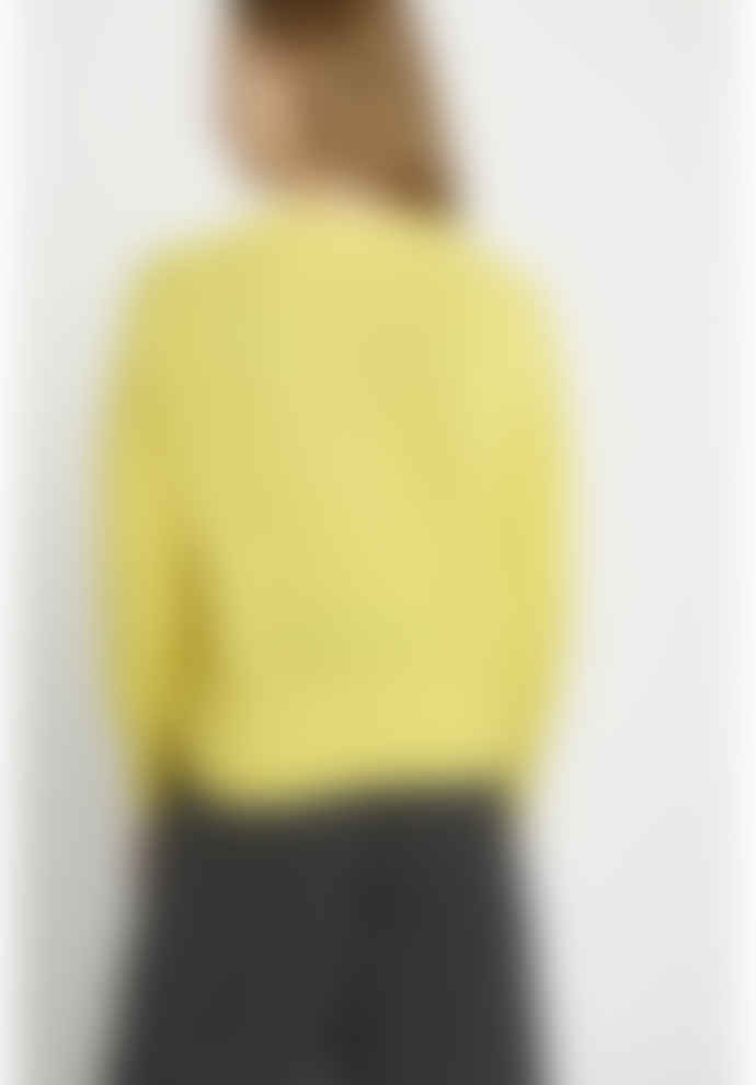 People Tree Charlotte Jumper in Yellow