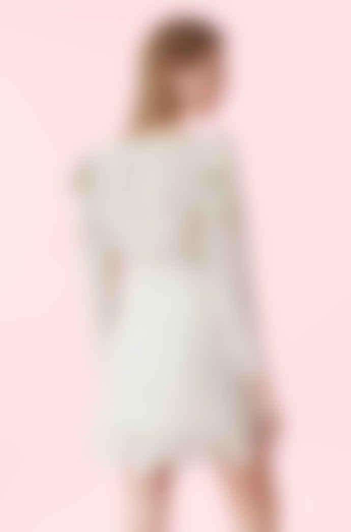 Rebecca Taylor Long sleeve Vivna silk tie top