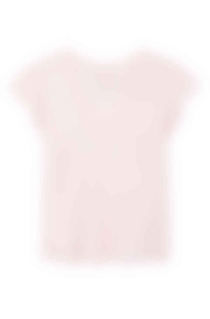 Rebecca Taylor La Vie washed textured t-shirt in Bonbon