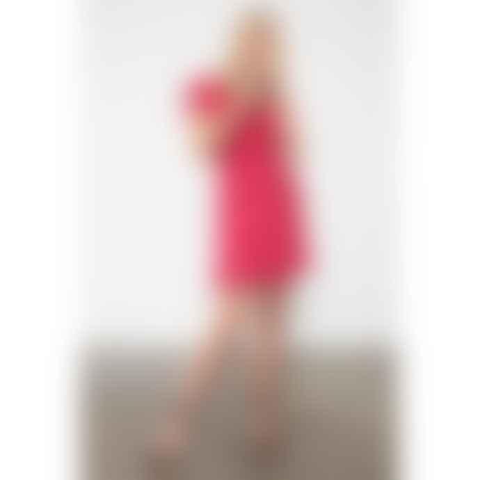 Rails Leanne Raspberry Dot Dress