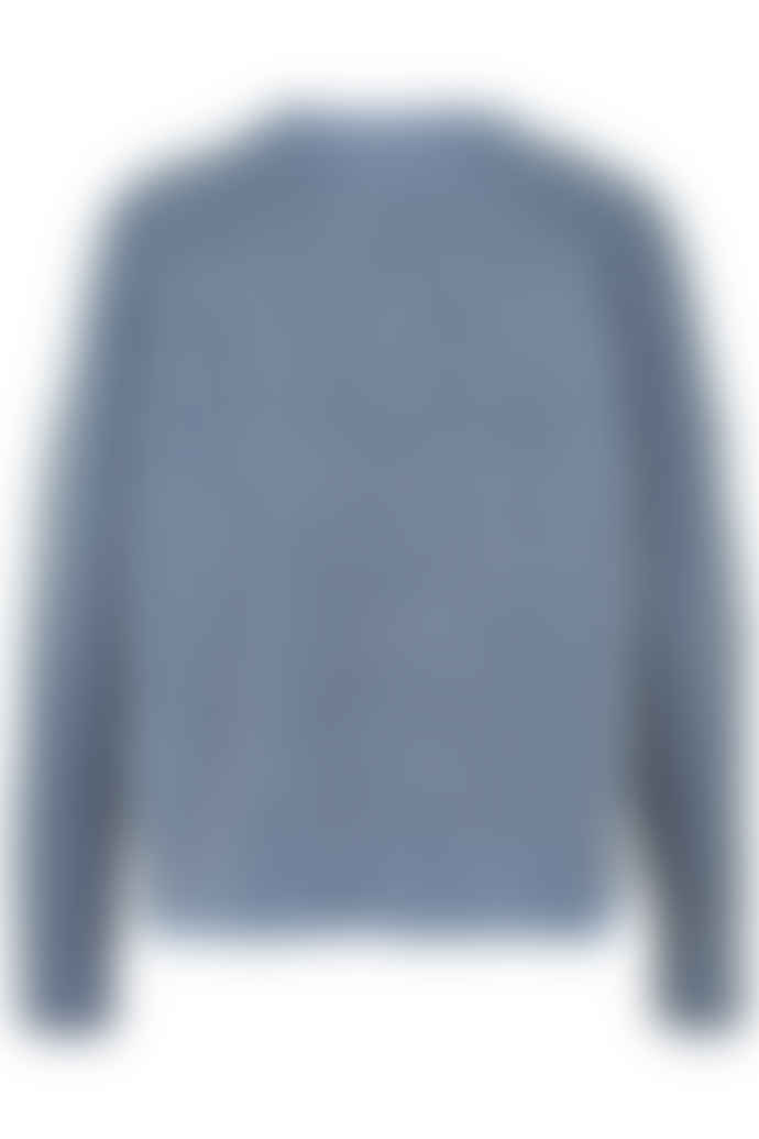 And Less Blue Bambina Pullover Jumper