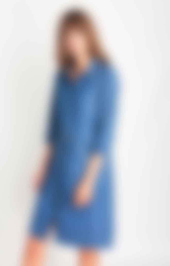 Bibico Lucy Denim Shirt Dress in Denim