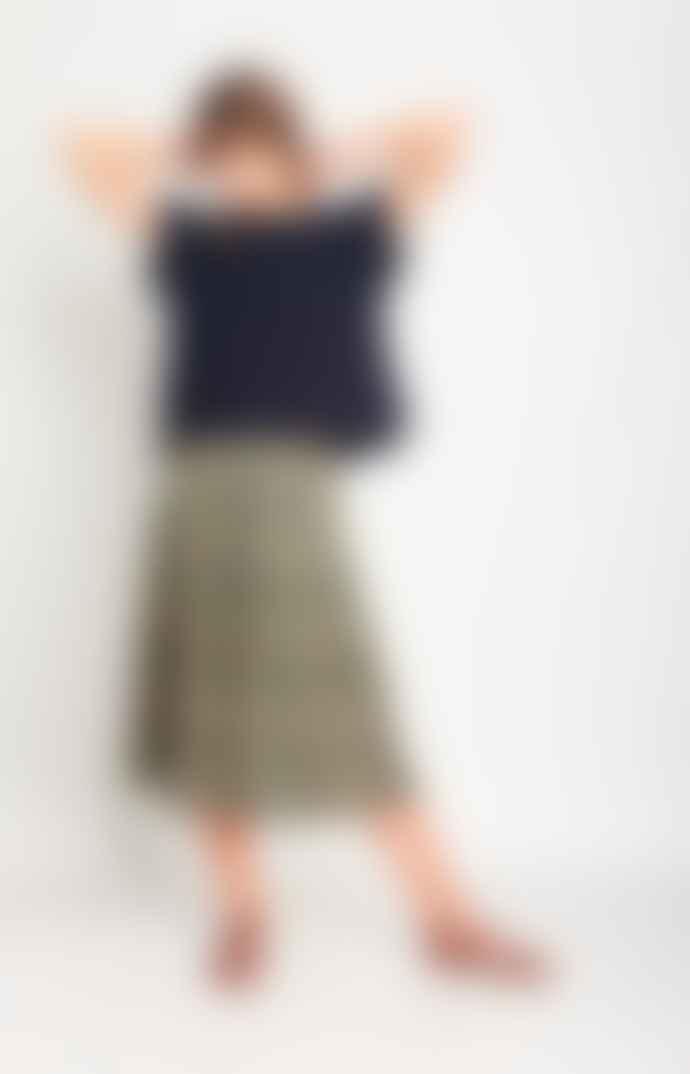Bibico Una Paisley Midi Skirt
