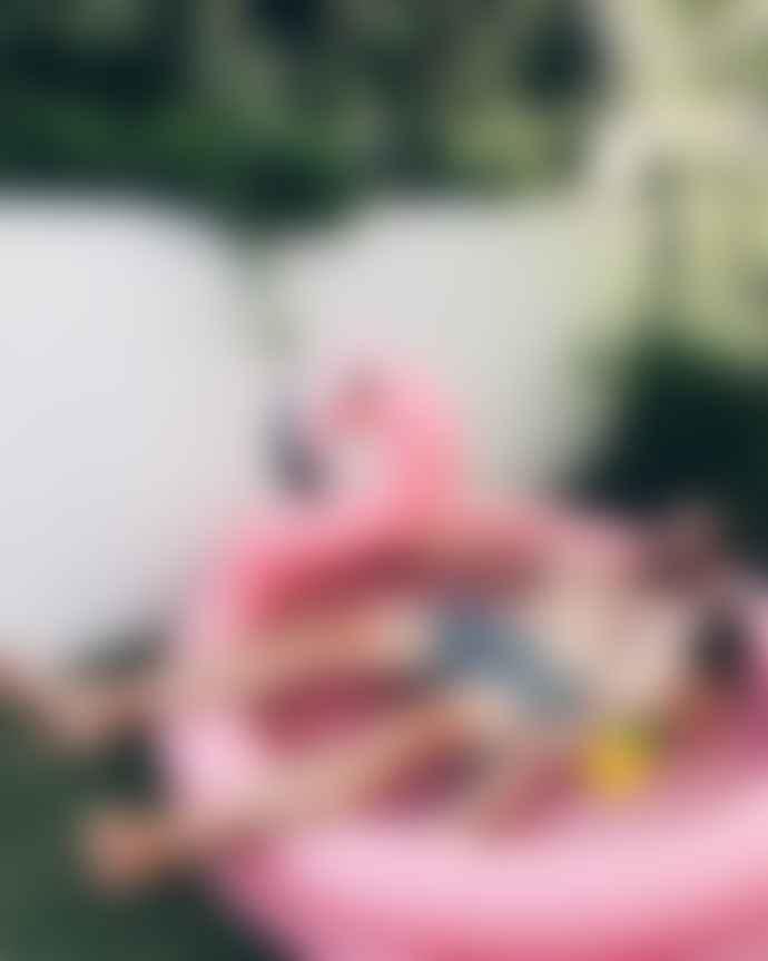 Sunnylife Backyard Pool Pink Flamingo