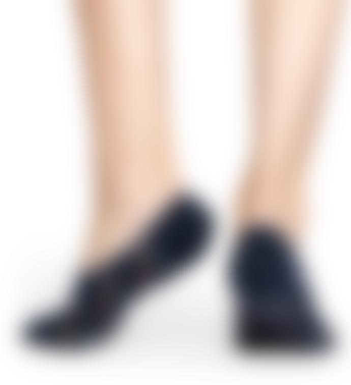 Happy Socks  Black Dot Liner Sock