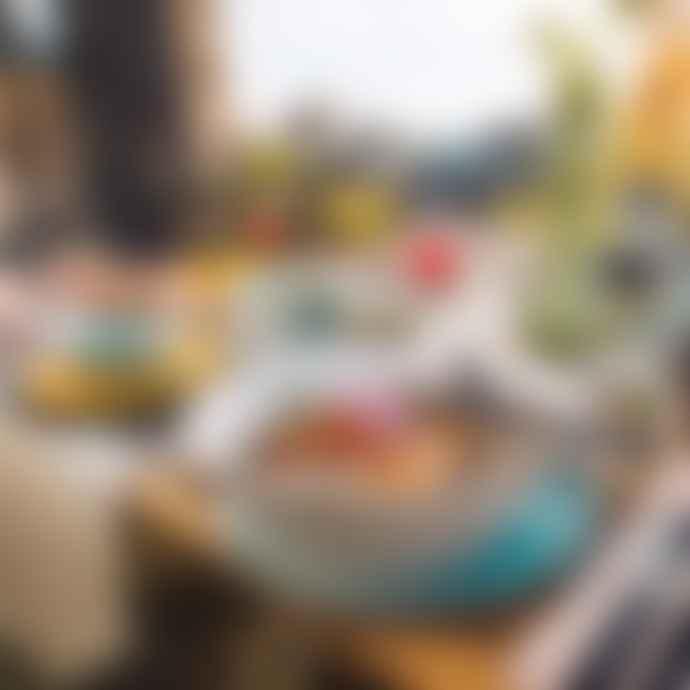 Mepal Rosti Rosti Bloom Dinner Plate 280 Mm Pebble White