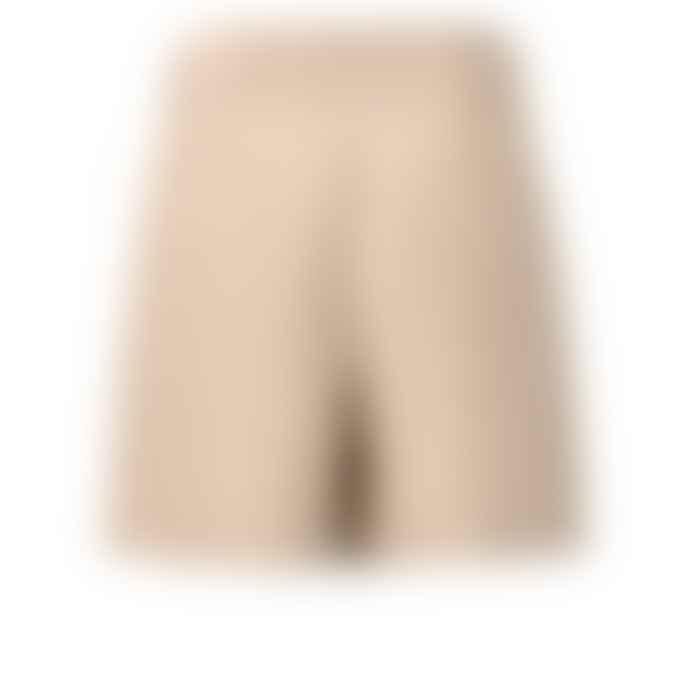 Yaya 123101 Sand Stripes & Tie Paper Bag Waist Shorts