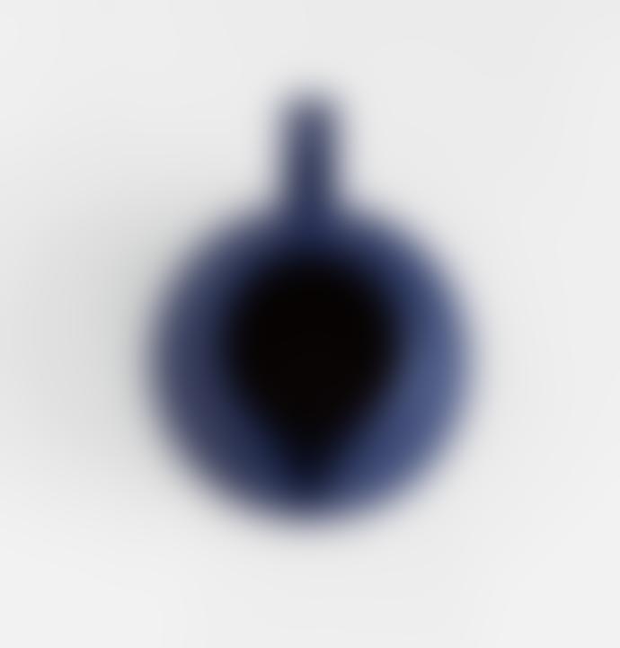 raawii Large Strom Jug Blue Ceramic