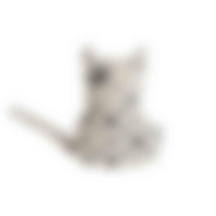 OYOY Black And White Cat Zorro Cushion