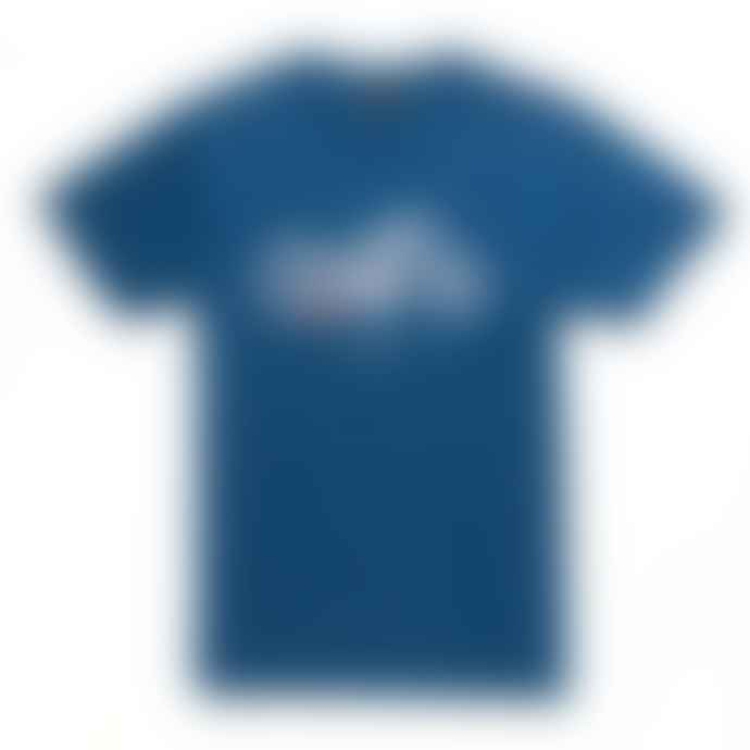 Deus Ex Machina Cee Seven Tee Shirt Dark Blue