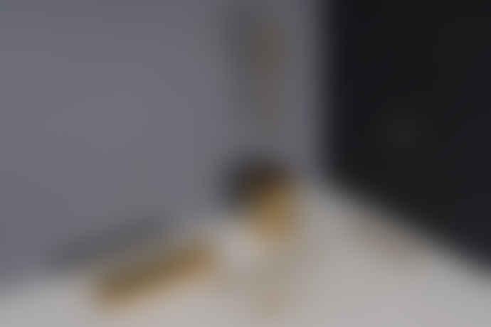 DOIY Design Gold Stainless Steel Hex Pen Pot