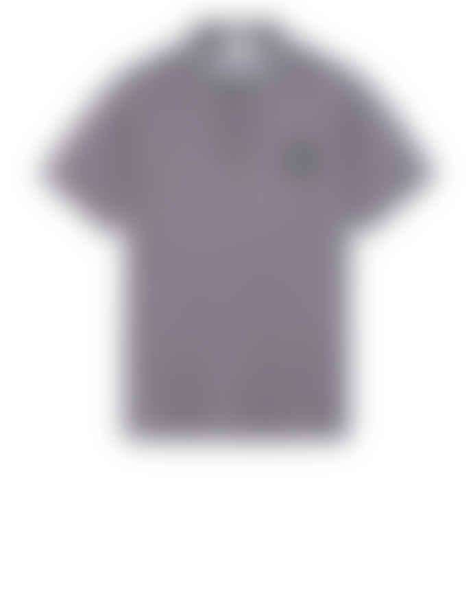 Stone Island Grey Short Sleeve Polo Shirt