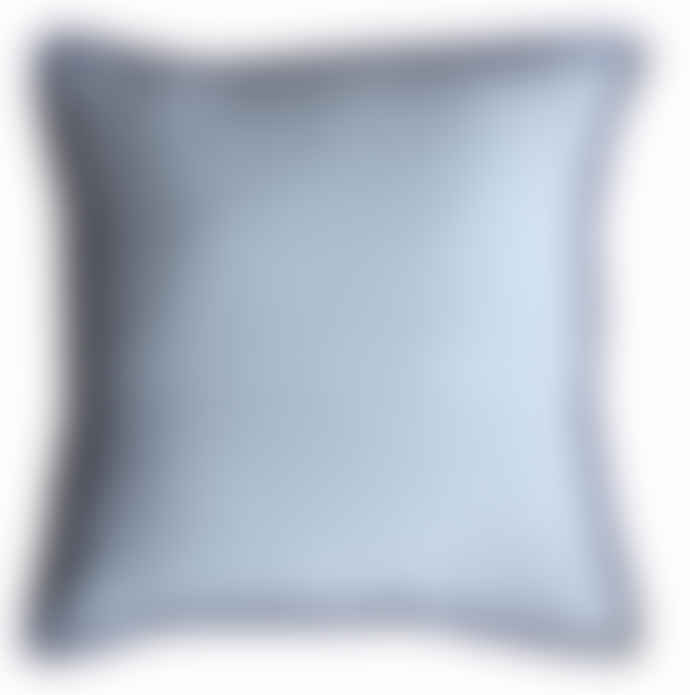 Large Linen Vintage Wash Cushion with Feather Inner