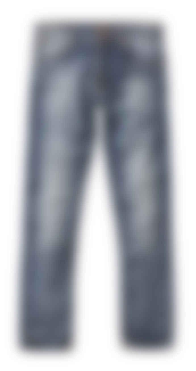 Nudie Jeans Worn In Broken Grim Tim Slim Fit Jeans